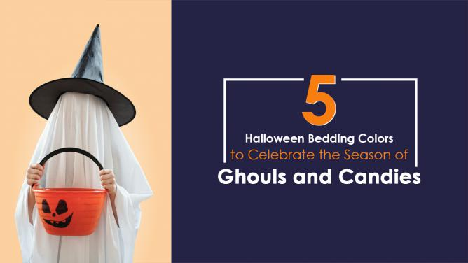 Top 5 Halloween Bedding Colors to Celebrate the Season of Ghouls and Candies