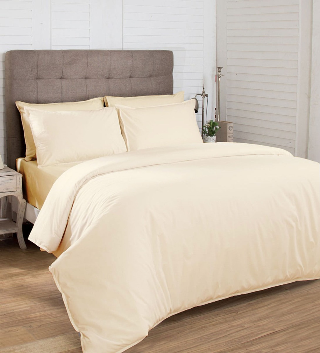 ivory bed sheets